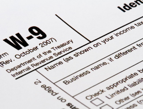 Why is My Bank Asking for a W-9 Form?